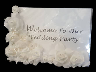Wedding – Floral Welcome Sign