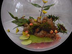 fish bowl arrangement 01-230x173