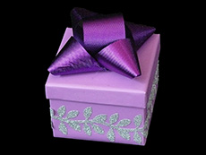 foil bow on box 01-230x173